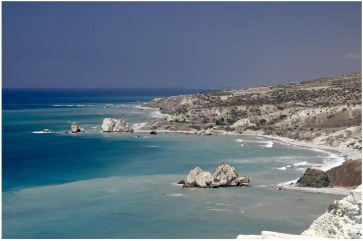 Aphrodite's Rocks, Cyprus