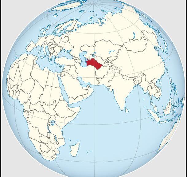 Turkmenistan Location