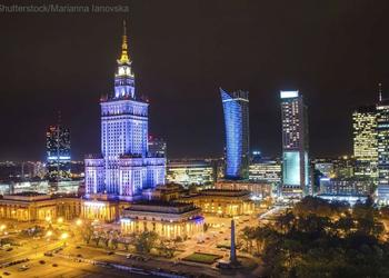 WARSAW AND THE PALACE OF CULTURE